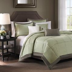 Bedroom Color Ideas Green And Grey Possible Accents Blue Yellow Duvet