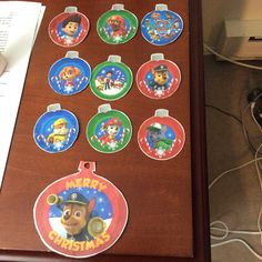 paw patrol christmas ornaments