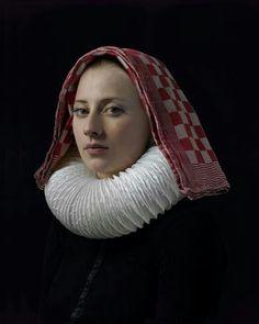 Fotograaf Hendrik Kerstens maakt een modern portret naar oude schilderkunst