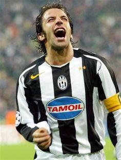 Alessandro Del Piero for Juventus vs Bayern Munchen, 19.10.04