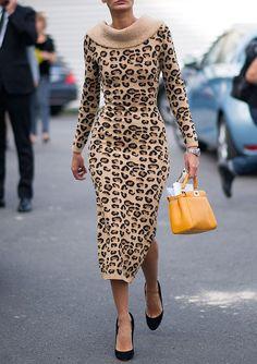 #streetstyleinspiration - leopard print