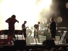 Mumford and Sons Pre Concert