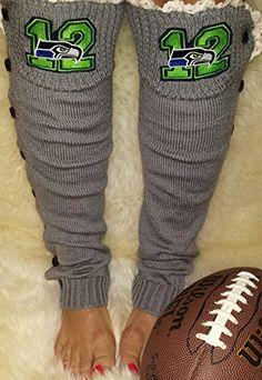 Seahawks Leg Warmers