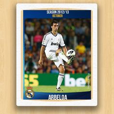 Real Madrid Collections - Arbeloa