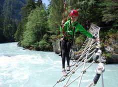 #Österreich/Tirol: Die Ökogemeinde Pfunds ist idyllisch im Dreiländereck Österreich-Schweiz-Italien gelegen. Und dort gibt es einen Ferienhof.  Wir haben einiges zu bieten, insbesondere für ältere Kinder: z.B. Rafting, Canyoning, ein Waldseilgarten oder die Pferde-Ranch.