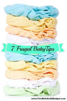 Preparing for baby is expensive, but it doesn't have to be. There are many ways to save while preparing for baby, here are just 7 frugal baby tips. Used Cloth Diapers, Reusable Diapers, Cloth Nappies, Baby Hacks, Baby Tips, Baby Ideas, Preparing For Baby, Homemade Baby, Having A Baby