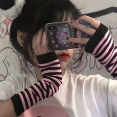 Aesthetic Grunge Outfit, Goth Aesthetic, Bad Girl Aesthetic, Aesthetic Clothes, Chicas Punk Rock, Emo Princess, Kawaii Goth, Cute Korean Girl, Grunge Girl