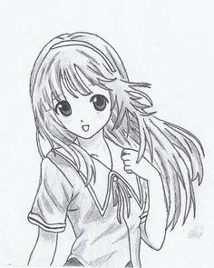 really nice anime hair ideas on this with cute eyes