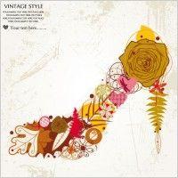 patterns pattern fashion high heels 01 vector