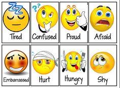 How Do You Feel? Emotions Feelings Activity by Herding Kats in Kindergarten Kindergarten Teachers, Preschool Classroom, Preschool Activities, Kindergarten Behavior, Classroom Ideas, Feelings Chart, Feelings And Emotions, Emotions Cards, Social Work