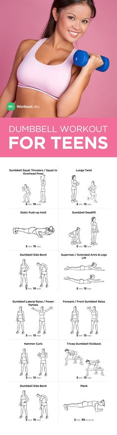 FREE PDF: Full Body Dumbbell Workout for Teen Girls and Guys –visit http://wlabs.me/1CucRxD to download!