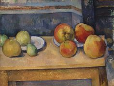 Cezanne, Still Life with Apples and Pears, ca. 1891-92 at the Metropolitan Museum of Art