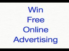 Win Free Website Advertising #raffel #freewin #win #freeadvertising #tweet #freeentry #internetmarketing