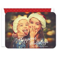 Happiest Holidays Photo Card