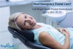 We are here to help you any time, any day for dental emergencies such as broken teeth, broken jaw severe toothache and more  #Non-SurgicalDentaltreatment, #dentalimplants, #brightsmile, #dentalClinic, #CosmeticDentalCare, #Gumdiseasecare, #Gumdisease
