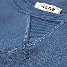 Acne Studios crew sweatshirt.                                                                                                                                                                                 More