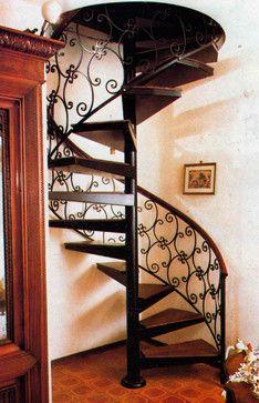 Elegant Stairs   Traditional   Staircase   Houston   Indital USA