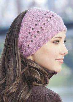 Knitting Pattern for Lacy Headwrap - #ad One of 10 designs in Knit Slouchy Beanies & Headwraps tba