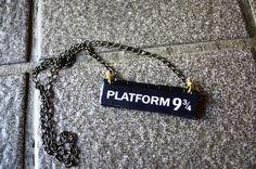 Platform 9 3/4 necklace