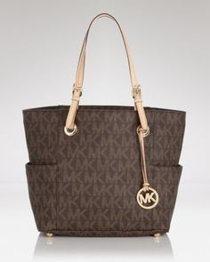 MICHAEL Michael Kors Tote - East West Logo Bloomingdales