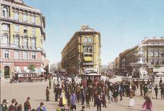 1898 körül, Calvin tér