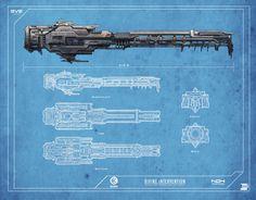 Divine Intervention by cjuzzz Space Ship Concept Art, Concept Ships, Faster Than Light, Gun Turret, Capital Ship, Sci Fi Ships, Spaceship Design, Design Language, Sci Fi Art