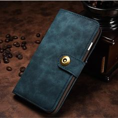 Luxury Leather Cover Case for HuaweI Mate 9 for Iphone 6 7 Plus for Samsung Galaxy Edge Phone Bag Wallet with Card Holder Flip Phones, Flip Phone Case, Iphone Wallet Case, Card Wallet, Iphone Cases, Card Case, Samsung Cases, Iphone 5s, Leather Phone Case