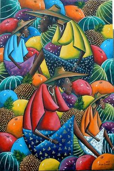 Fruit Market, by Artist Dion Lewis