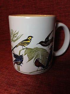 Hallmark Birds Coffee Mug great bird watcher mothers day gift songbirds spring