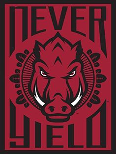 Arkansas Razorbacks Football Poster Pop Art Authentic Team Spirit Store Product Arkansas Razorbacks Poster Collection http://www.amazon.com/dp/B00MH4FJIA/ref=cm_sw_r_pi_dp_HPkywb122P5DY