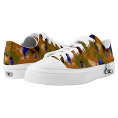 Stand-out Camouflage Printed Shoes from ZoeSPEAK.