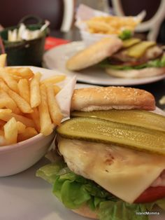 Burgers and beer - a match made in heaven! Well, when the burgers are like these in La Palmerita in La Laguna, Tenerife anyways!