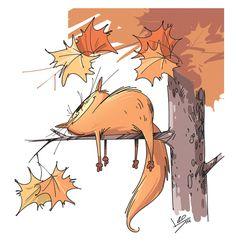 Гамарц Леонид - Осенний кот