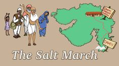 "About this story: Learn about ""The Salt March"" also called the ""The Dandi march"", a non violent protest organized by Mahatma Gandhi. (5:00m)"