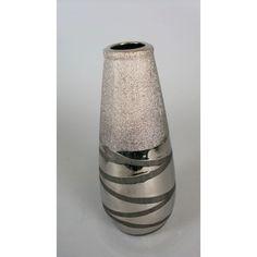 Vase / céramique, 23x11 cm du grossiste et import