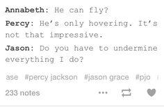 Incorrect PJO quotes