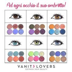 E tu quali colori userai?  http://www.vanitylovers.com/prodotti-make-up-occhi/ombretti.html?utm_source=pinterest.com&utm_medium=post&utm_content=vanity-ombretti&utm_campaign=pin-vanity