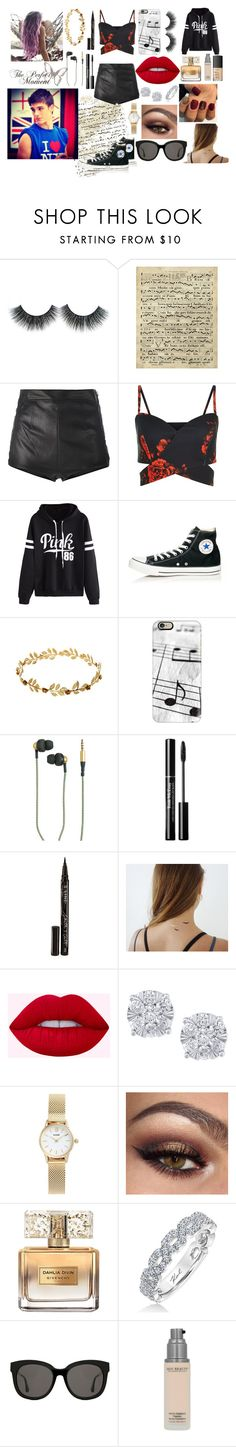 """""""Alondra"""" by slytherin-for-life ❤ liked on Polyvore featuring Art Classics, La Perla, WithChic, Converse, Casetify, Kreafunk, Smith & Cult, shlomitofir, Effy Jewelry and CLUSE"""