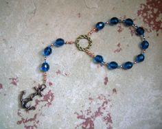Njord Pocket Prayer Beads: Norse God of the Sea, Abundance and Commerce by HearthfireHandworks on Etsy