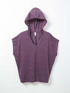 plum poncho - just add leggings