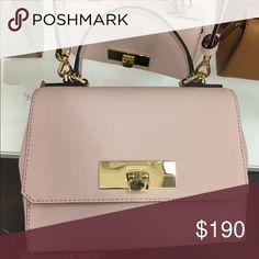 Michael kors Callie blossom cross body leather •size XS •light rose pink leather •Brand new •Authentic •available in taupe, silver, gold, light blue, gray Michael Kors Bags Crossbody Bags
