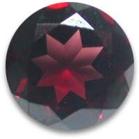 Buy online these high quality red garnet round shape gems in 12mm up for sale at the wholesale prices.