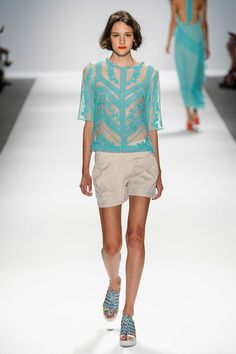 Nanette Lepore Spring 2014 Ready-to-Wear Collection Slideshow on Style.com