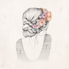 with grace in your heart and flowers in your hair - Kelli Murray