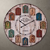 """H23"""" Country Style Retro Wall Clock – USD $ 49.99"""