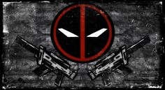 deadpool logo available here - www.redbubble.com/people/grimm…