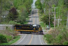 RailPictures.Net Photo: LAL 428 Livonia, Avon & Lakeville Alco C424 at West Henrietta, New York by Steve Barry / www.railroadphotographer.com
