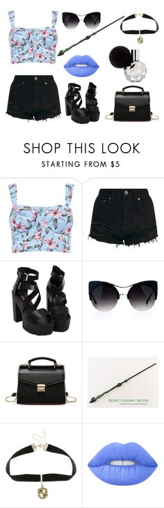 """""""Hogwarts is my home"""" by alexandra-scamander on Polyvore featuring Warner Bros. und Lime Crime"""
