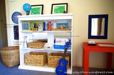 montessori bedroom for preschoolers - boys music themed room