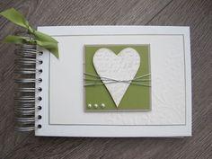 .: Album und Karte zur Hochzeit